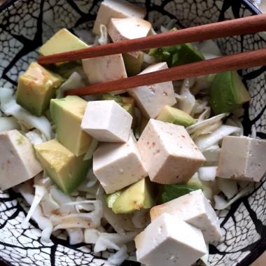 Ensalada de Tofu