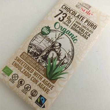 Chocolate Puro 73% con Agave Solé