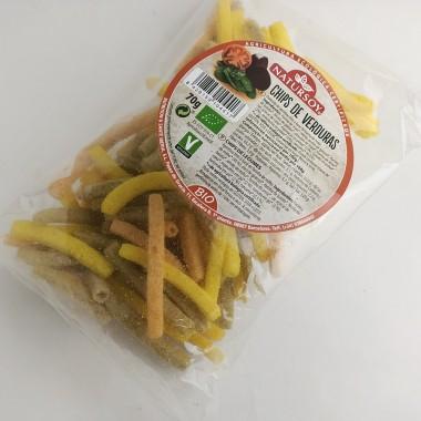 Chips Verduras 70gr natursoy