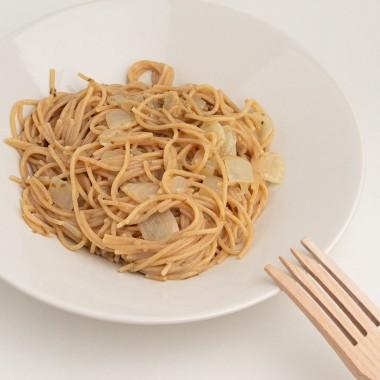 Espagueti Integral a la Carbonara