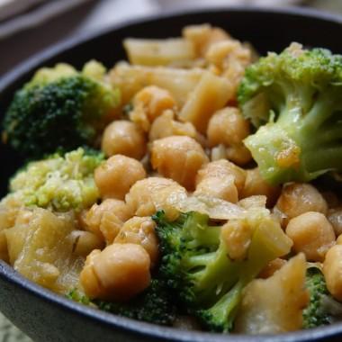 Garbanzos con Brócoli