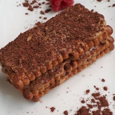 Tarta de Galletas con Moka